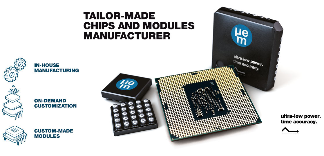 Tailor-made chips and modules manufacturer